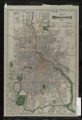 Map of Minneapolis, 1909. Plate no. 55, Water mains