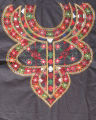 Decorative material for the front of a blouse