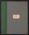 Barberry Eradication. Progress reports by states. Barberry Eradication Campaign, Colorado. (Box 1, Folder 14)