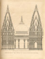Elevation of the Temple of Vishveshvur at Benares.