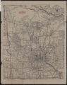 Rand McNally's official 1921 auto trails map district number 9, Minnesota [and] W. Wisconsin