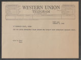 Budget - Long Distance Telephone Calls, 1958-1962 (Box 17, Folder 17)