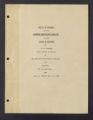 Barberry Eradication. Progress reports by states. Barberry Eradication Campaign, Colorado. (Box 3, Folder 22)