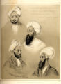 Dost Mahomed Khan and Part of his Family: Hyder Khan, Governor of Ghuznee; Dost Mahomed Khan; Mahomed Akram Khan; Ab
