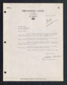 Letter from Arrowhead Lodge to Erwin Oreck, Oct 18, Ray, Minnesota