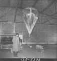 Balloon inflated and test package attached and ready for ascent; Flight 125 image 5378