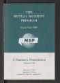 Korea: Bulletins, Pamphlets, 1956-1958 (Box 81, Folder 39)
