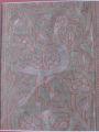 Ahmedabad ashavali brocade sari border depicting a swan/goose eating pearls