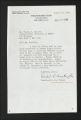 Correspondence, 1934-1961. (Box 1, Folder 12)