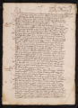 Depositions and itemized testimonies brought forth by Padre Romero regarding the Jesuits' services and their petition for the right to produce and trade oil and wine., January 19th, 1607.
