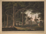 Hindoo Temples at Agouree, on the River Soane, Bahar.