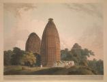 Hindoo Temples at Bindrabund on the River Jumna.