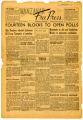 Manzanar Free Press, Volume 2, Number 11, August 14, 1942