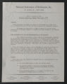 Member Houses and Associated Settlement Organizations, National Federation of Settlements, Correspondence, Minutes, Reports, 1943-1947. (Box 232, Folder 584)