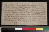 Manuscript 1: Bond for 40 denarii (of Liege)