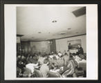 Special Projects, 1939-1940, 1944-1946, 1959-1970s. Neighborhood Youth Corps, 1964-1969. Special Youth Corps Projects. Photographs of Career Conference, 1968. (Box 89, Folder 10)