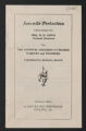 Related Organizations, 1925-1949. Inter-Community Child Study Committee. Committee Correspondence. Correspondence. (Box 40, Folder 420)