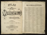 Atlas of the city of Minneapolis, Minnesota : compiled and drawn from actual surveys and official records.