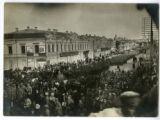Czechoslovak Legion troops enter Omsk