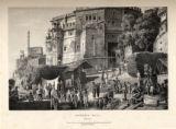 Bruhma Ghat: Benares.