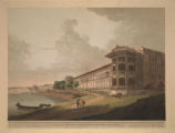 North East View of the Costea Bhaug, On the River Jumna, Delhi.