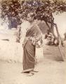 A Hindoo woman, Parbu caste, Bombay