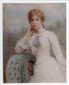 Anna Delauel Bannister wedding portrait