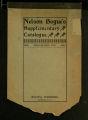 Nelson Bogue's Suplementary Catalogue