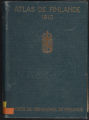 Atlas de Finlande, 1910, Texte 2 Population et Civilisation (Cartes Nos 24-55)