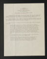 Background Information. Resolutions on interracial policy, 1946-1965. (Box 1, Folder 5)