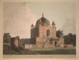 Mausoleum of Sultan Purveiz, near Allahabad.