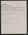 1972 Mountain Plover plans and miscellaneous thoughts