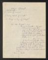 1934-1961. Analysis of Budget. (Box 3, Folder 12)