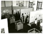 Art exchange exhibit, Seoul, Korea
