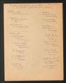 1934-1961. Bureau Lists of Officers and Board Members, 1934 - 1952. (Box 3, Folder 8)
