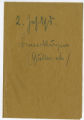 Friedrich Wachtsmuth Archive, 1929-1938. (Box 1, Folder 11)