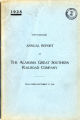 Alabama Great Southern Railroad Company, Annual Report, 1928