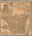 Rail road map of Wisconsin : 1862