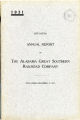 Alabama Great Southern Railroad Company, Annual Report, 1931