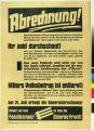 """Abrechnung! : Nationalsozialisten! Warum leugnet ihr den volksverraterischen Pakt ab, den euer """"Fuhrer"""" mit der Reic"""