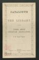 Local Association Miscellaneous Materials. Bristol, 1865 and 1870. (Box 11, Folder 8)