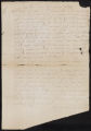 Autograph letter signed by Africante Abbioso to Zuane Balbianni : Aleppo, 22 January 1574.