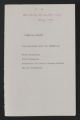 """All-South Human Relations Conference Correspondence, """"""""May 1963."""""""" (Box 50, Folder 5)"""