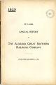 Alabama Great Southern Railroad Company, Annual Report, 1929