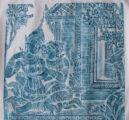 Hanuman giving a message to Sita
