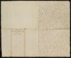 Copy of the Revd. Saml. Peters Letter to Neziah Bliss.