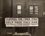 Italian war relief poster