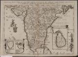 Penisola Dell'Indo di qua Del Gange, E L'Isola Di Ceilan Nell'Indie Orientali