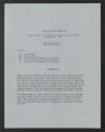 Report of the Southern Operation Harry Delung, Jr. Assistant Director, Summer 1965. (Box 17, Folder 13)