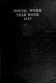 Social Work Year Book, 1937